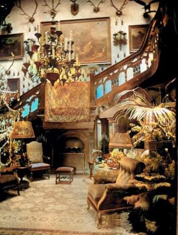 Interiér kaštieľa